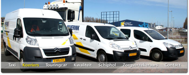 Hilverink Koeriers + Taxi 's