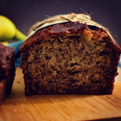 Banana Bread (Vegan option)